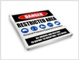Heavy Duty Industrial signs
